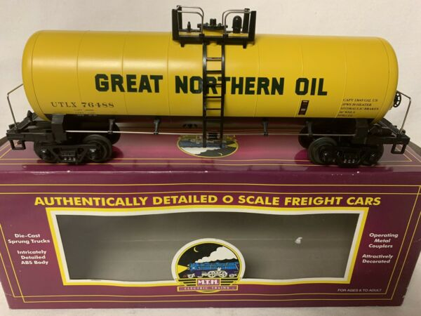 ✅MTH PREMIER GREAT NORTHERN OIL MODERN TANK CAR 20-96017! FOR O SCALE SET GAS