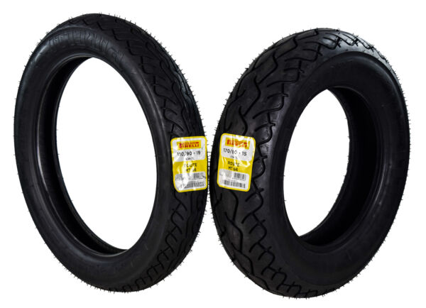 Pirelli MT 66 Route 110 90 19 170 80 15 Front amp; Rear Cruiser Motorcycle Tire Set $202.78