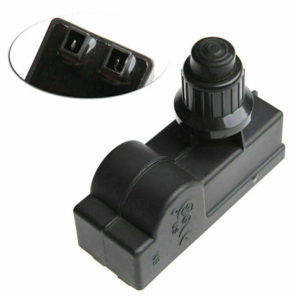 BBQ Gas 2 Outlet Grill Replacement AA Battery Push Button Ignitor Igniter Black