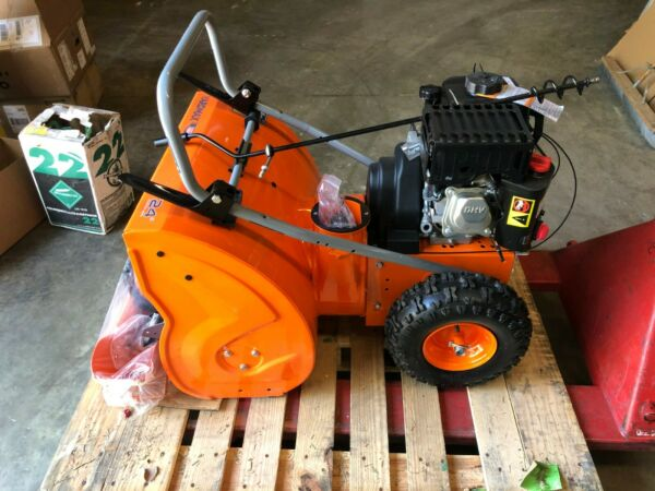 Yardmax 24 in. Two Stage Electric Start Gas Snow Blower YB6270