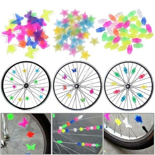 Colorful Bicycle Accessories Bicycle Decor Bikes Sports amp; Outdoor Bike Spoke W $5.70