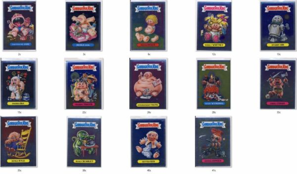 2013 Chrome Garbage Pail Kids GPK OS1 C-Variant - PICK FROM LIST!