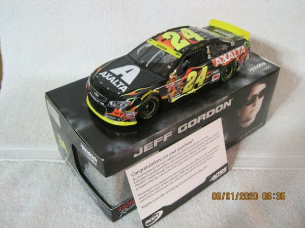 RARE 2015 JEFF GORDON #24 AXALTA CHASE FOR THE CUP 124 DIECAST 1 OF 841