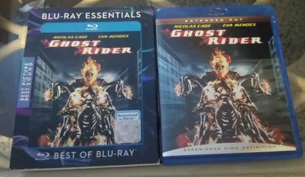 Ghost Rider + OOP Slipcover (Bluray 2007) FAST FREE SHIPPING