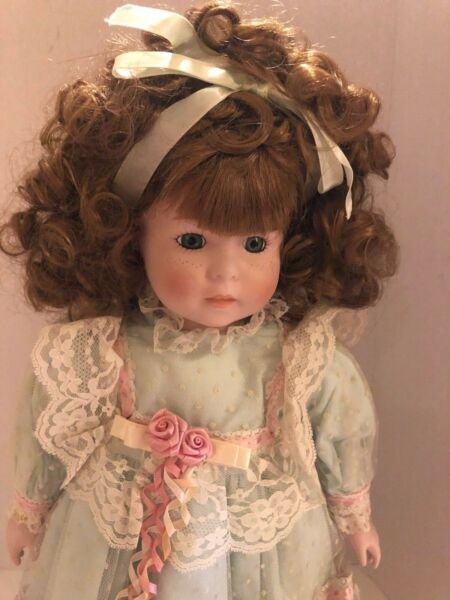 Seymour Mann Collector's Porcelain Girl Doll 18