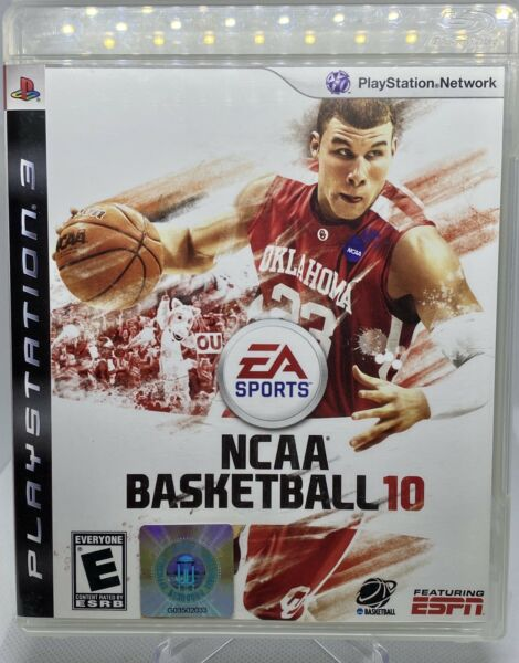 NCAA Basketball 10 (Sony PlayStation 3 PS3) EA Sports Complete With Manual Works