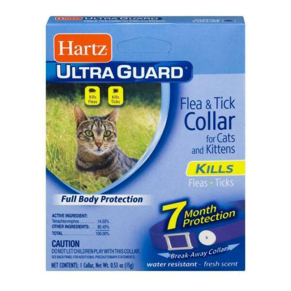 HARTZ Flea amp; Tick Collar For Cats And Kittens For 7 Months Period Purple 13 Inch $7.99