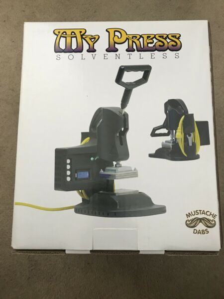 MY PRESS Rosin Heat Press Machine By MyPress Solventless