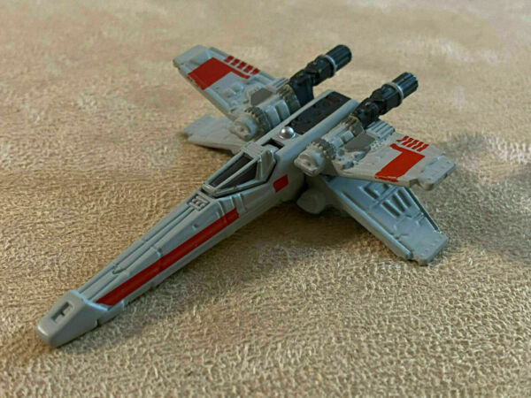 Hasbro Micro Machines Star Wars X Wing Fighter Titanium Black Series Die Cast