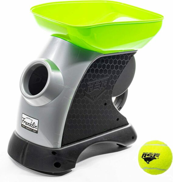 Franklin Pet Supply Ready Set Fetch Automatic Tennis Ball Launcher Dog Toy $129.99