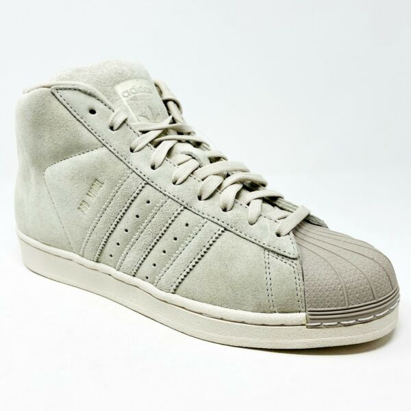 Adidas Originals Pro Model Clear Brown Gray BZ0213 Mens Casual Sneakers