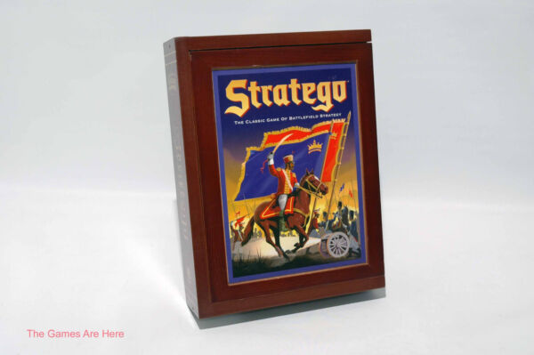 Stratego Vintage Collection Wood Box Milton Bradley 2010 COMPLETE read desc