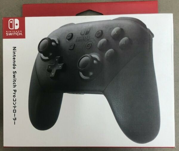 2020 New Nintendo Switch Wireless Pro Controller - Black w box