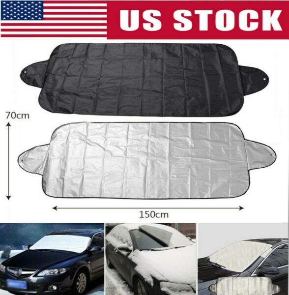 Windshield Cover Snow Ice for Car Frost Guard Winter Protector Auto US Stock $7.38