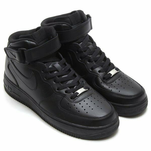 Men's Shoe Air Force 1 Mid '07 Black 315123-001 New With Box