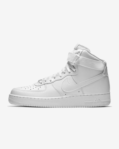 Men's Shoe Air Force 1 High '07 White 315121-115 New With Box