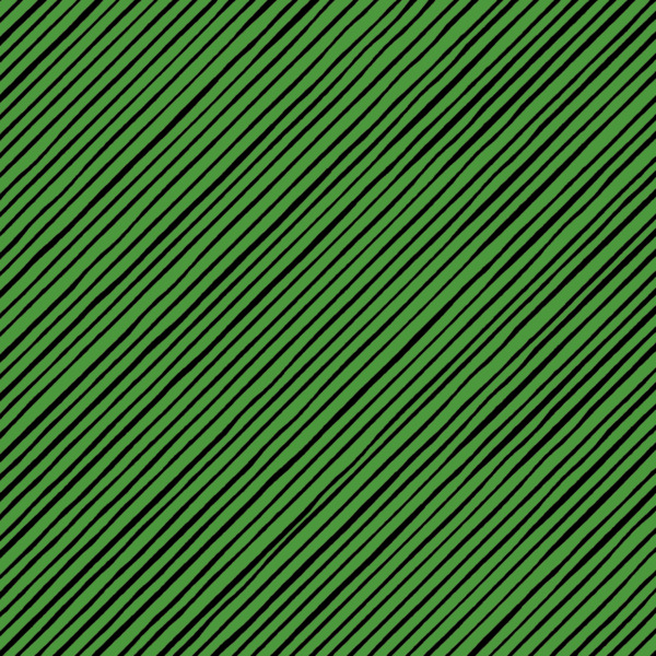 Loralie SNOW LADY Quirky Green Stripe Quilt Fabric Sold by 1 2 Yard #692 410