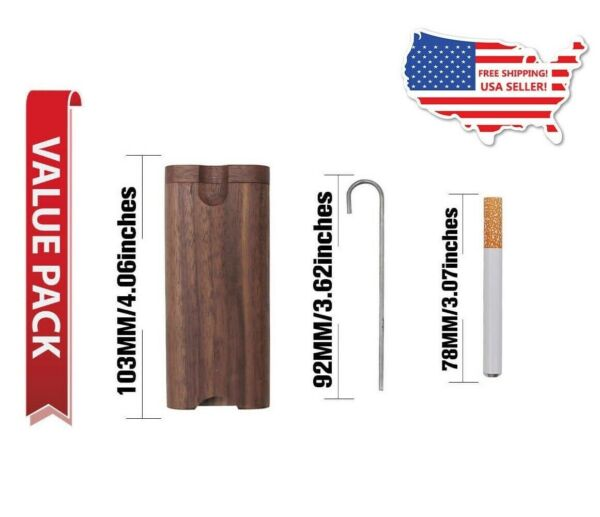 Wooden Dugout with Metal One hitter and Poker. USA Seller Fast Shipping