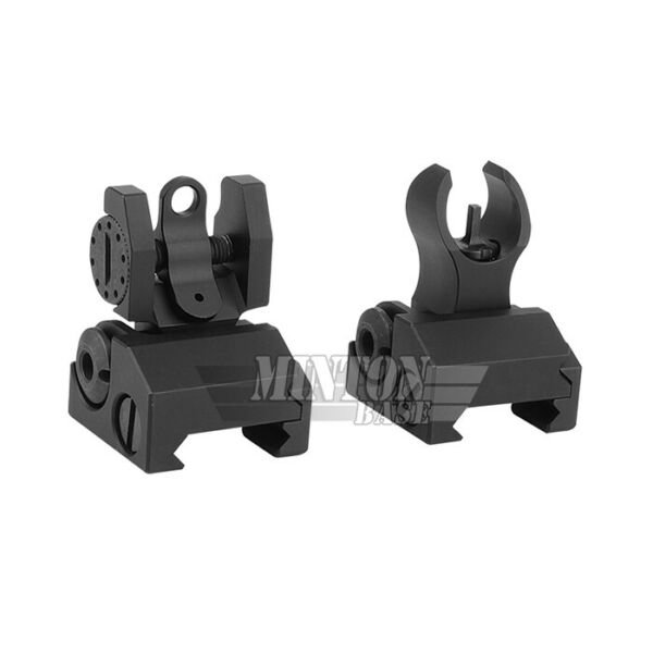 Tactical Micro HK Sight Set Front and Round Rear Folding Low Profile Sight Iron $40.95