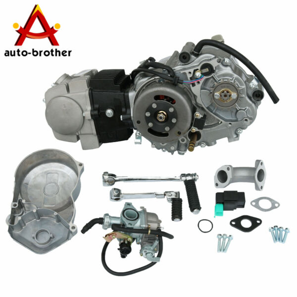 New Engine Motor 125cc 4 Stroke Motorcycle Dirt Pit Bike Fits For Honda CRF50 $584.97