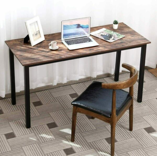 Wood Computer Desk PC Laptop Study Table Workstation Home Office Furniture 55
