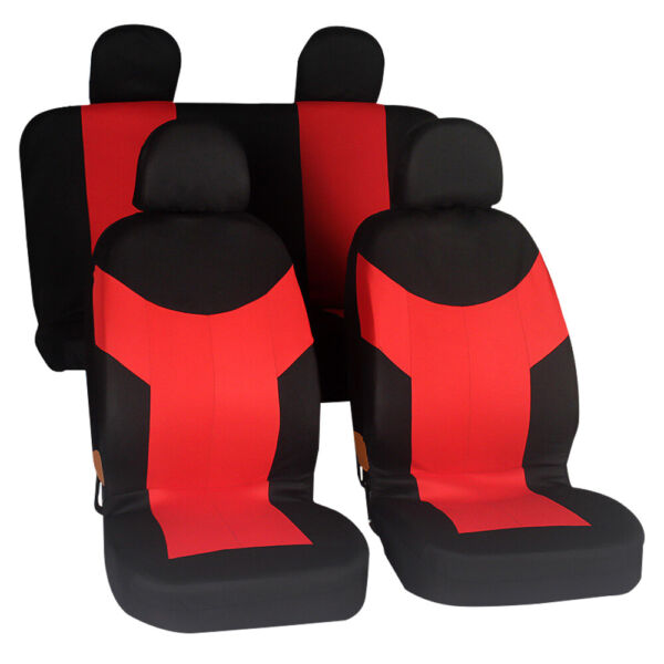 Universal Car Seat Cover Set Pet Protectors Front Row Accessories Auto SUV Kit $20.05