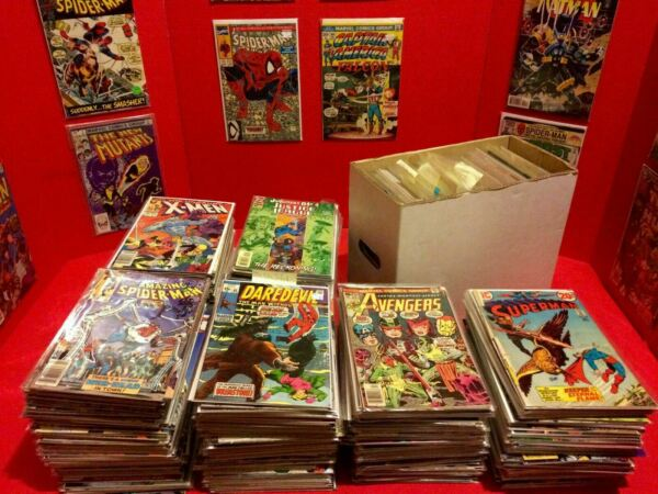 HUGE 25 COMIC BOOK LOT MARVEL DC INDIES FREE Shipping VF to NM ALL $19.50