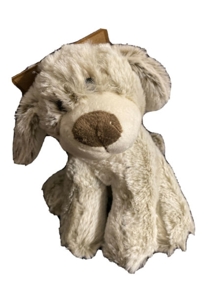 Wags and Purrs 7'' Two Tone Dog Dog Toy Soft Plush Squeaker $8.99