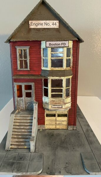 Fire Station Boston Engine No. 44 O Scale Structure