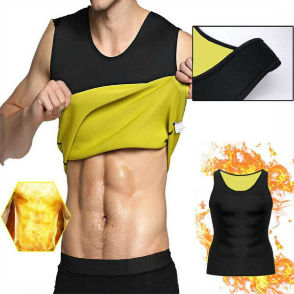 For Men amp; Women Sauna Sweat Slimming Trainer Vest Neoprene Thermal Body Shaper
