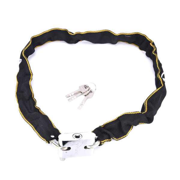 Motorbike Bicycle Cycle Cable Bike Lock Chain Security Scooter Padlock S G3 rFEH