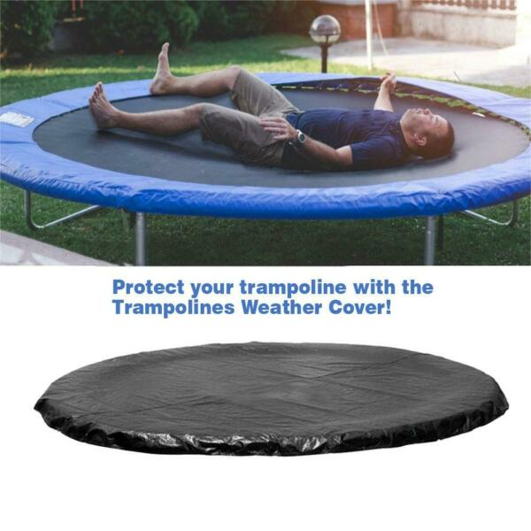 Waterproof UV Trampoline Outdoor Cover Dust 14FT Protection Weatherproof Rain $50.59