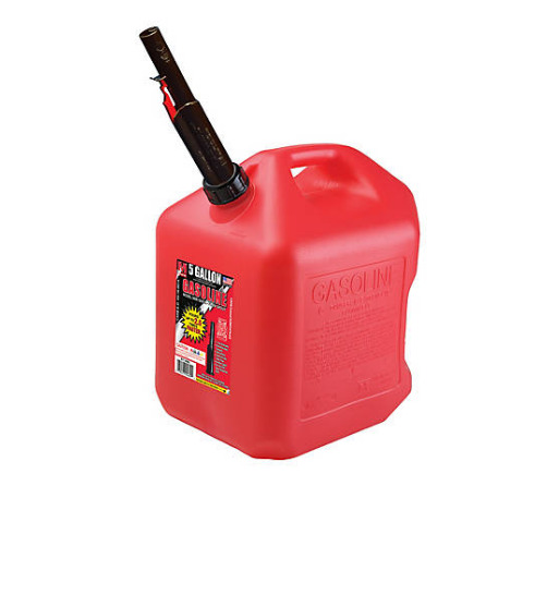 Gas Can 5 Gallon w FLAME SHIELD Will Not Rust BEST PRICE amp; FREE 3 DAY SHIPPING $29.88