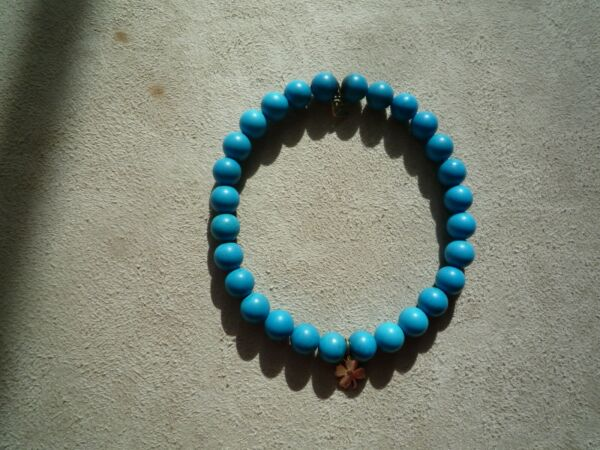 Sydney Evan Turquoise Beaded With Two 14k Charms Bracelet $349.99