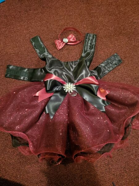 Fancy DOG dress Small $80.00