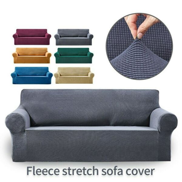 Jacquard Stretch Sofa Covers Slipcovers Settee Furniture Covers Cushion Cover $9.99