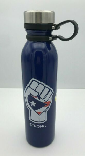 NEW H2Go Concord Stainless Steel 25 oz Water Bottle Navy Blue