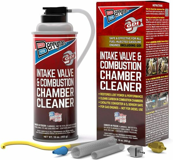 Berryman Intake Valve and Combustion Chamber Cleaner Spray Kit 2611 $22.99