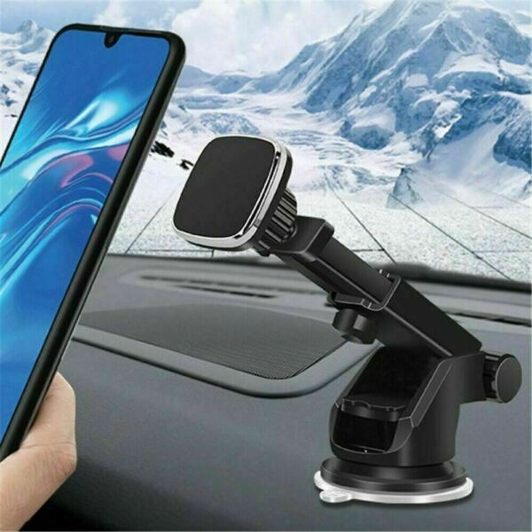 Universal Magnetic Car Mount Holder Dash Windshield Suction Cup For Cell Phone $7.98