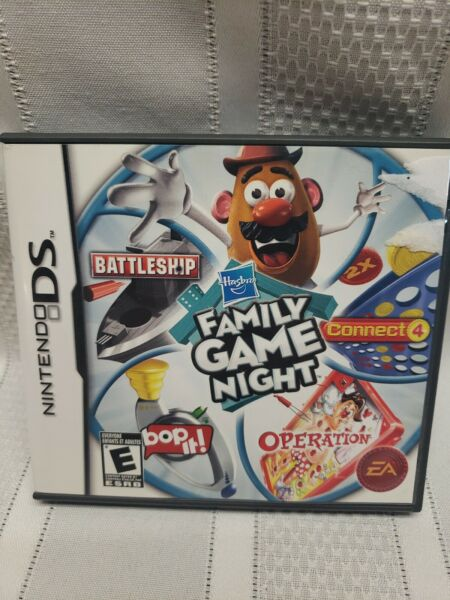 Hasbro Family Game Night Nintendo DS 2009