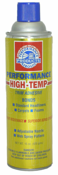Performance High Temp Spray Adhesive for Foam Fabric Headliner