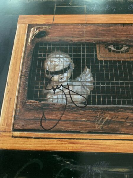 Serj Tankian System Of The Down Autographed Signed Flat