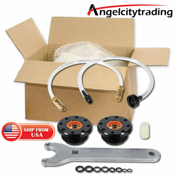 HS5157 Front Mount Hydraulic Steering Cylinder Seal Kit amp; Bleed Kit For Seastar