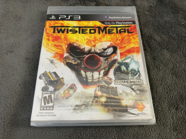 PlayStation 3 New Factory Sealed Twisted Metal Quick Handling FREE Shipping PS3