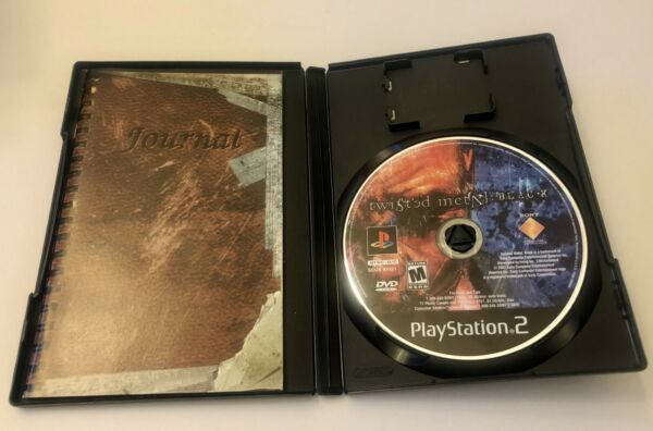 Twisted Metal Black Sony Playstation 2 PS2 Black Label Complete CIB