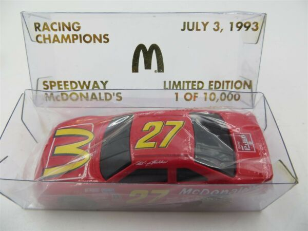 Racing Champions 1:64 Die Cast #27 July 3 1993 Speedway McDonald#x27;s LE 1 of 10K
