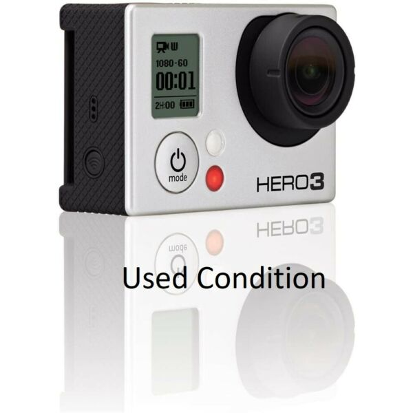 Used GoPro HERO 3 Black 4K 12MP Ultra HD Sport Action Camera Camcorder WiFi USA