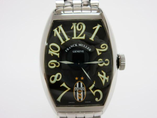 FRANCK MULLER 5850 Juventus Automatic Black Dial Stainless 300 Limited Mens