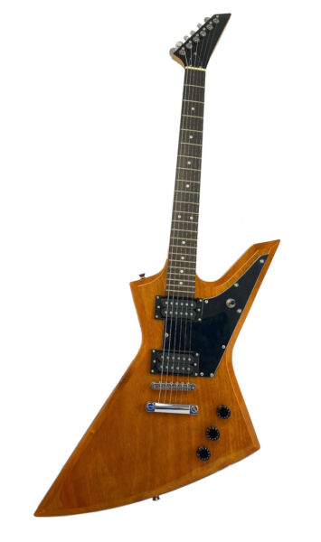 Zenison Rock Style Electric Guitar Solid Wood Body Maple Neck Natural $169.99