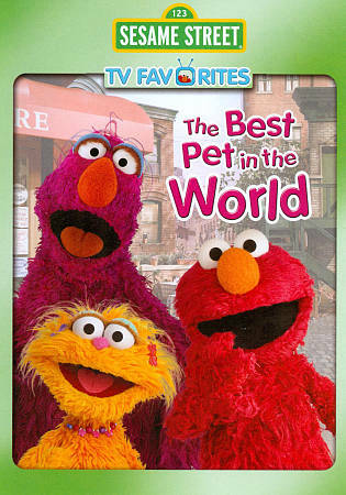 Sesame Street: The Best Pet in the World DVD **DISC ONLY** $3.25